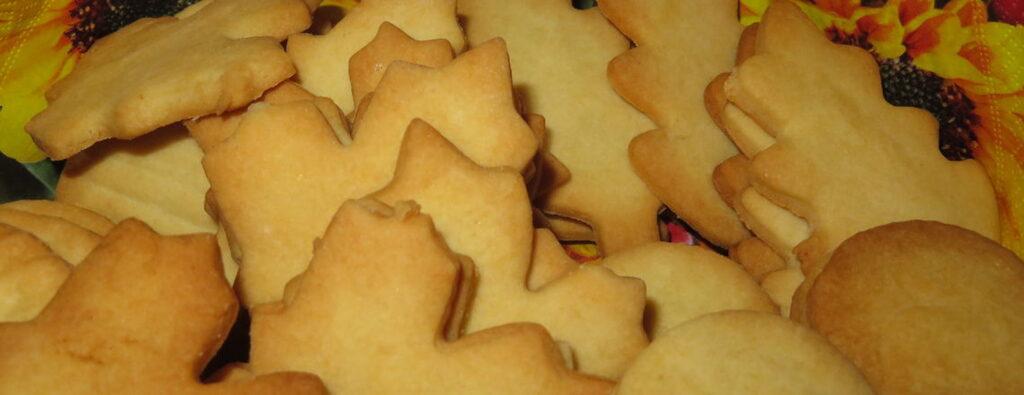 Jesienne ciasteczka maślane