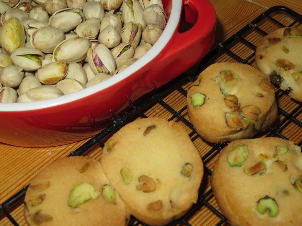 Ciasteczka pistacjowe
