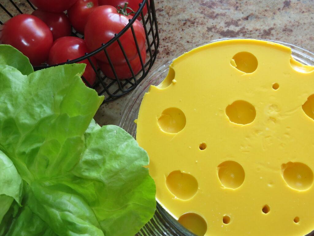 Żółty ser-deser